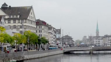 Old town of Lucerne — Stock Video