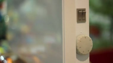 Dijital panel kremi. — Stok video