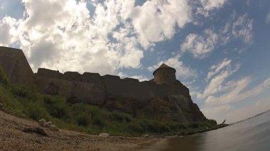 Antigua fortaleza — Vídeo de Stock