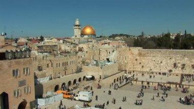 Jerusalem - Kotel (Wailing wall) — Stock Video