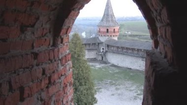 Kamenetz Podolsk fortress — Stock Video