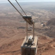 Cableway on  Masada — Stock Video