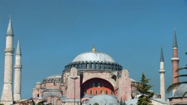 Aya Sofya (Hagia Sophia) — Stock Video #13356257