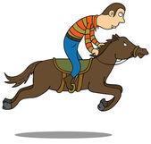Horse Riding — Vector de stock