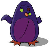 Zombie Penguin — Stock Vector