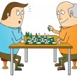 Chess master — Stock Photo #14099296