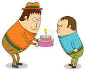 Happy birth day to you — Stock Photo