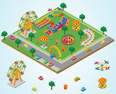 Isometric Carnival — Stock Photo