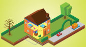 House environment — Stock Photo