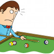 Stock Photo: Billiard time