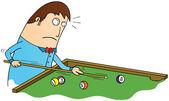 Billiard time — Stock Photo