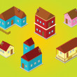 Isometric houses — Stock Photo #25464131