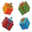 Stock Vector: Various presents