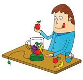 Making juice — Stock Vector