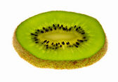 Slice of kiwi fruit — Stock Photo