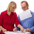 Two business working - Stock Photo