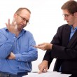 Person signing of an agreement — Stock Photo #12605158