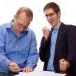 Person signing of an agreement — Stock Photo #12605161