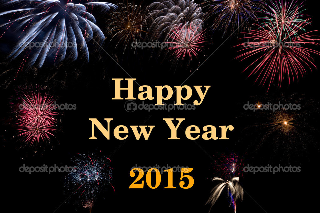 Happy New Year 2015  Stock Photo #12605333