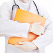 Royalty-Free Stock Photo: Medical doctor with some documents