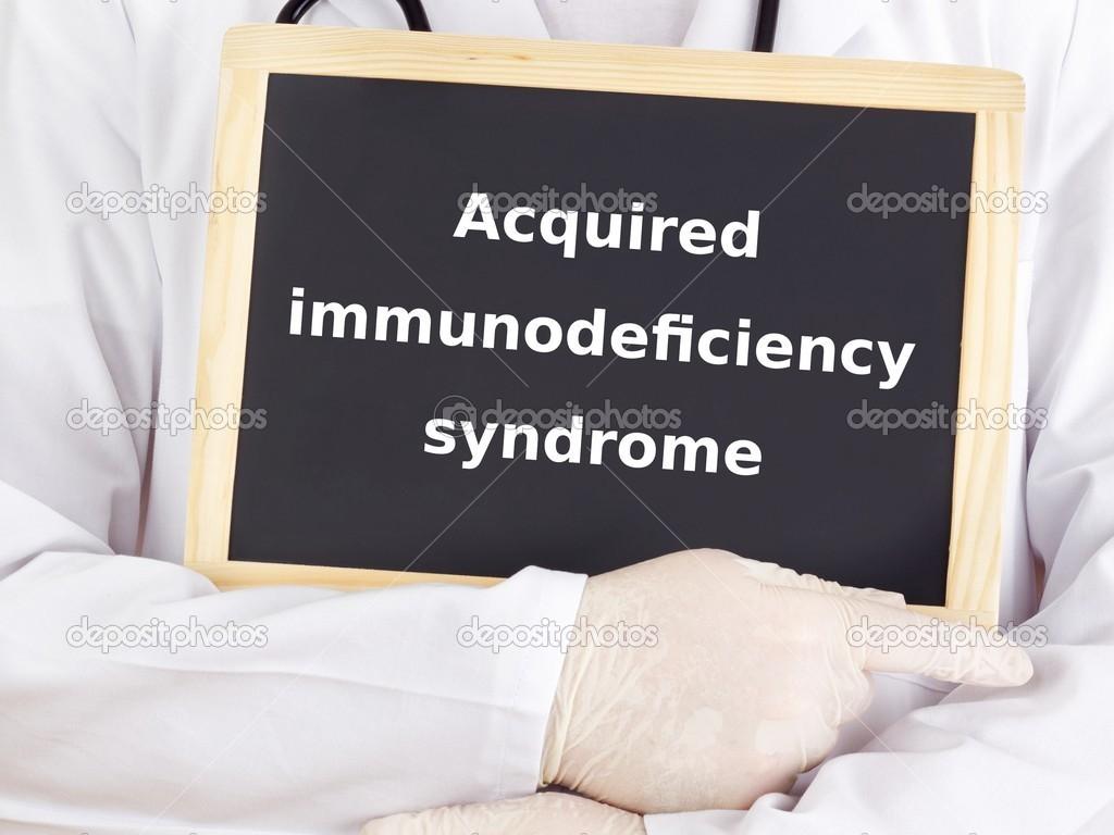 Синдром Приобретенного Иммунодефицита фото