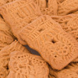 Stock Photo: Closeup of some speculoos