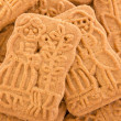 Closeup of some speculoos — Stock Photo