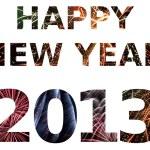 Happy New Year 2013 — Stock Photo