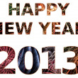 Foto Stock: Happy New Year 2013