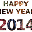 Foto Stock: Happy New Year 2014