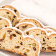 Stollen for christmas — Stock Photo