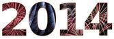 Year 2014 — Stock Photo