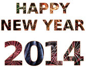 Happy New Year 2014 — Foto Stock