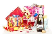 Decoration for New Year's Eve — Stock Photo