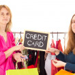 Royalty-Free Stock Photo: On shopping tour: credit card