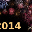 Happy New Year 2014 — Stock Photo #18505027