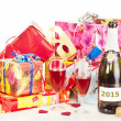 Stock Photo: Decoration for New Year's Eve