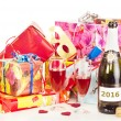 Decoration for New Year&#039;s Eve - Stock Photo