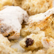 Close-up of a stollen — Stock Photo