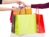 Shopping tour — Stockfoto