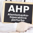 Blackboard: ADHD : Esperanto language - Stock Photo