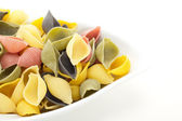 Let us cook a meal with these italian noodles! — Stock Photo