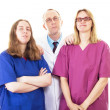 Good medical team is important for best work! — Stockfoto