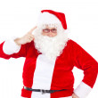 Santa Claus saying to you that you was not nice — Stock Photo #37573351