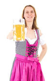 Let us meet at next Oktoberfest — Stock Photo