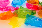 Candy wrappers — Stock Photo