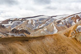 Mountains of the Landmannalaugar — Stock Photo
