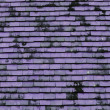 Purple roof for background usage — Stock Photo