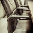 Black & white of empty boardroom or meeting room. — Stock Photo #13612549