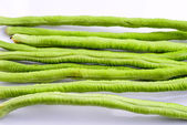 Green beans on isolated — Stock Photo